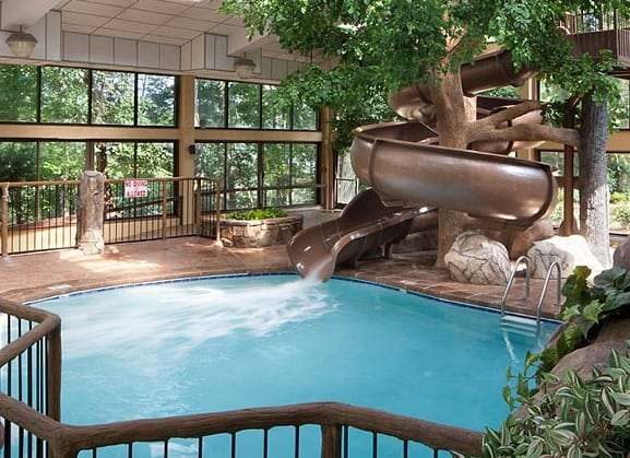Gatlinburg Hotel Indoor Pool By Aquaium
