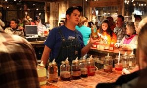 sample moonshine in gatlinburg tn