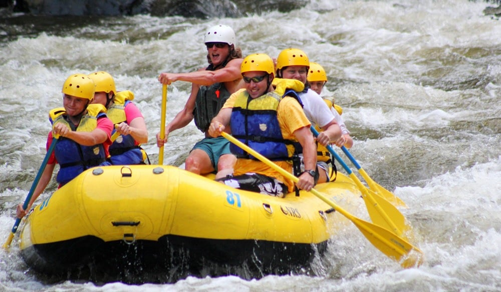 white water rafting gatlinburg tn