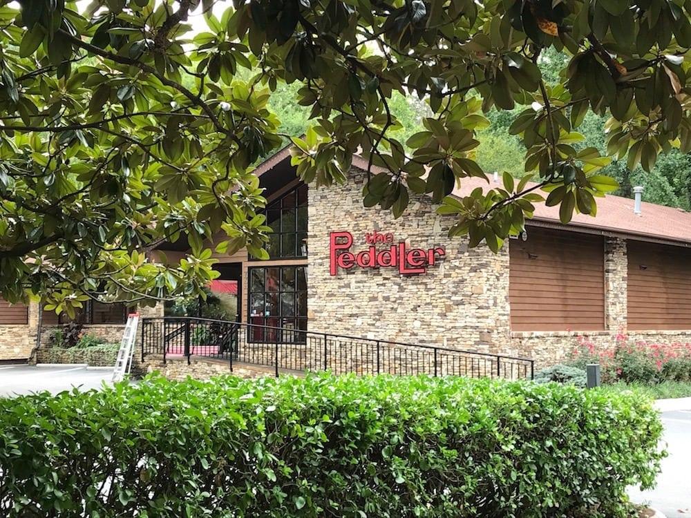 The Peddler Steakhouse in Gatlinburg.