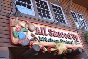 The All Sauced Up shop in Gatlinburg.
