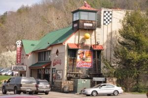 Cooter's Place in Gatlinburg.
