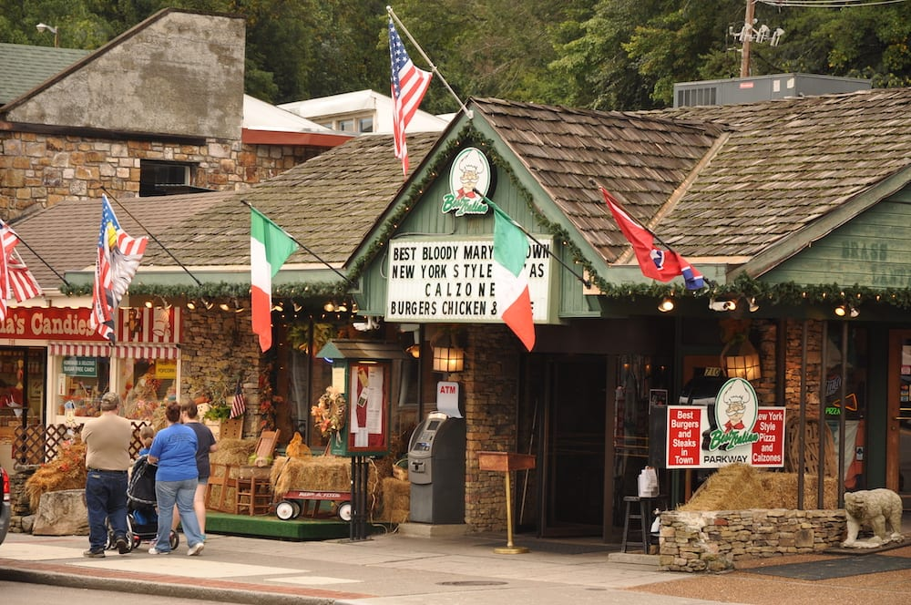 best italian restaurant in gatlinburg
