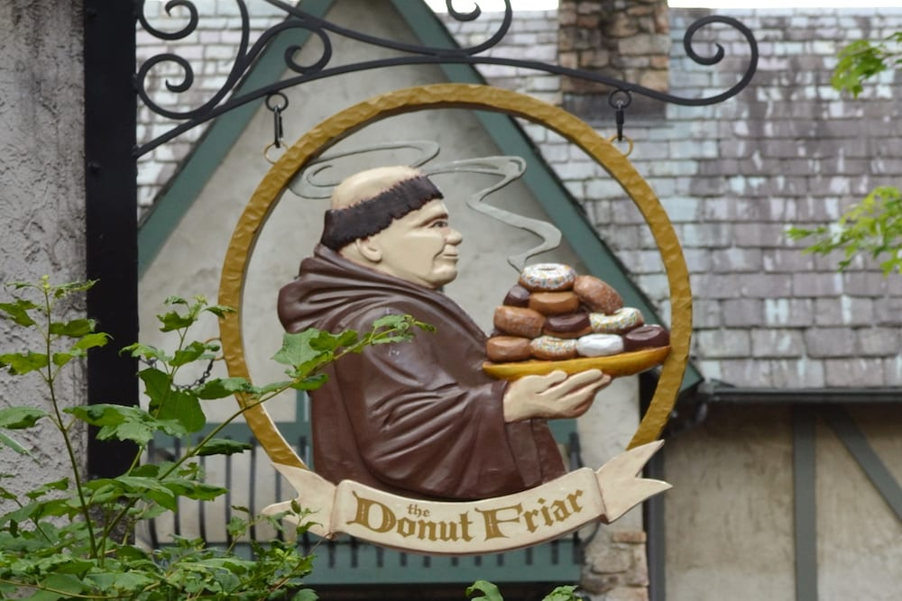 the donut friar in gatlinburg