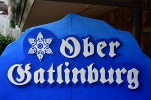 ober gatlinburg sign